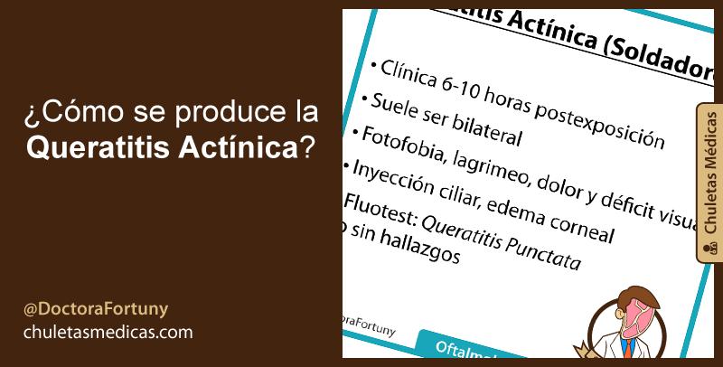 ¿Cómo se produce la Queratitis Actínica?
