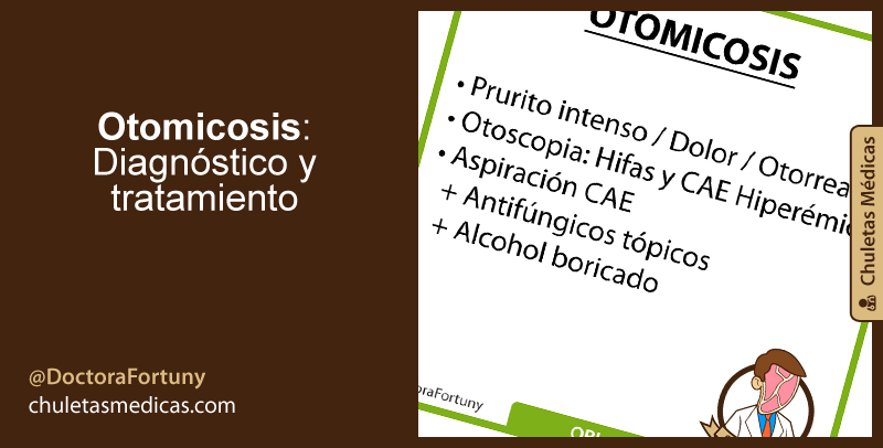 Otomicosis: Diagnóstico y tratamiento