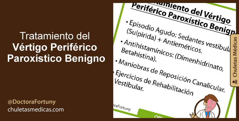 Tratamiento del Vértigo Periférico Paroxístico Benigno