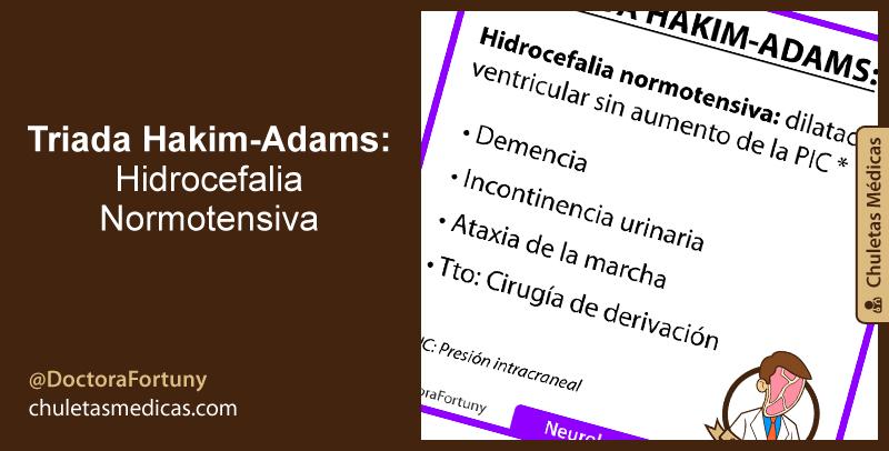 Triada Hakim-Adams: Hidrocefalia Normotensiva