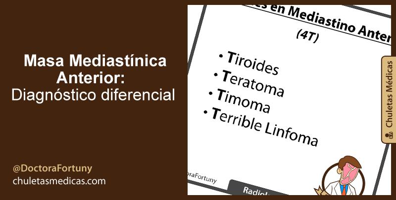 Masa Mediastínica Anterior: Diagnóstico diferencial