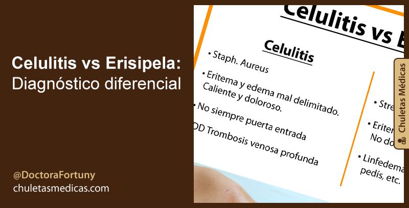 Celulitis vs Erisipela: Diagnóstico diferencial