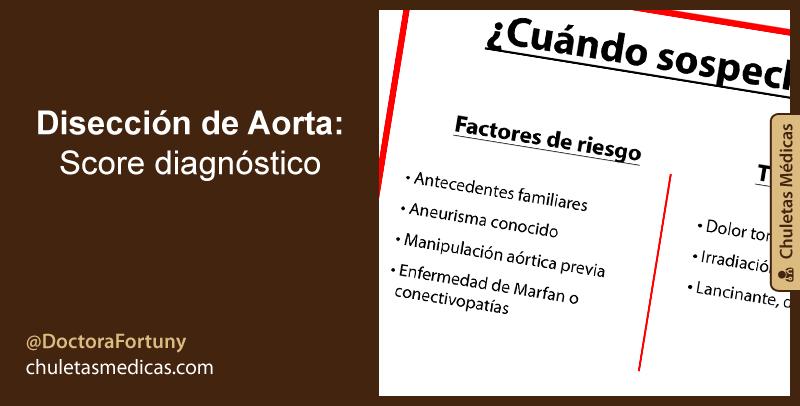 Disección de Aorta: Score Diagnóstico