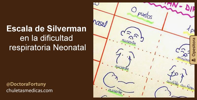 Escala de Silverman en la dificultad respiratoria Neonatal