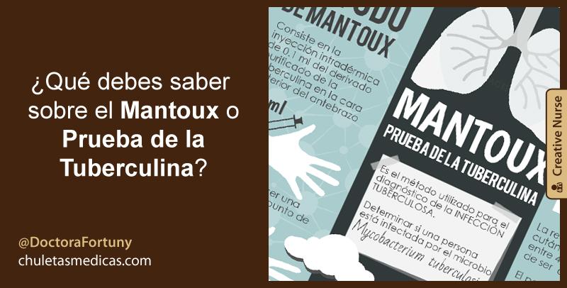 ¿Qué debes saber sobre el Mantoux o Prueba de la Tuberculina?