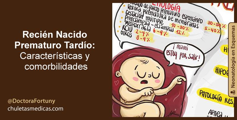 Recién Nacido Prematuro Tardío: Características y comorbilidades