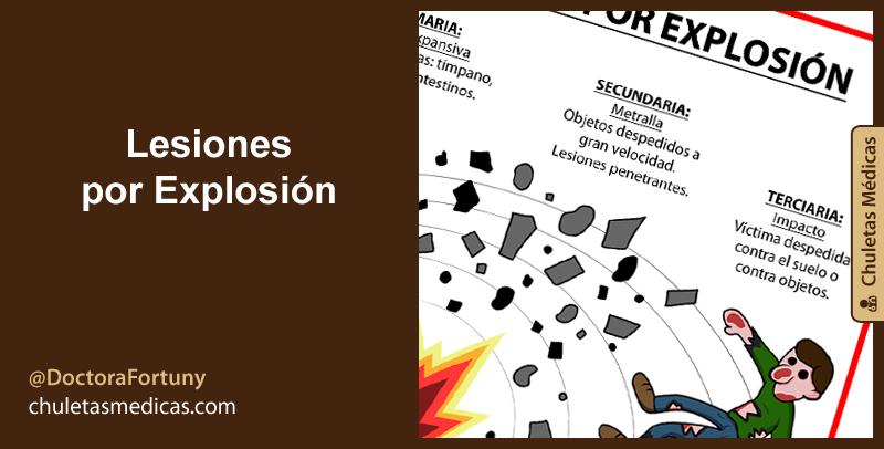 Lesiones por Explosión