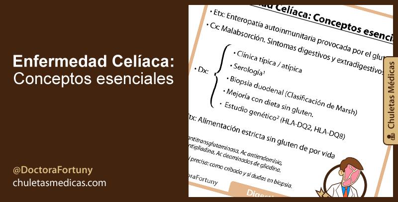 Enfermedad Celíaca: Conceptos esenciales